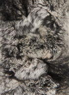 Fur Scarf, Grey