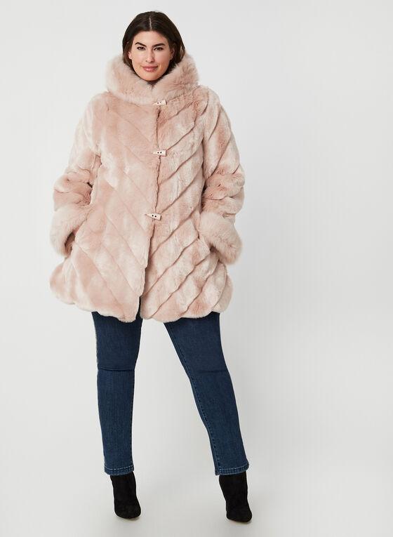 Nuage - Faux Fur Coat, Pink