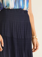 Alison Sheri - Maxi Peasant Skirt, Blue