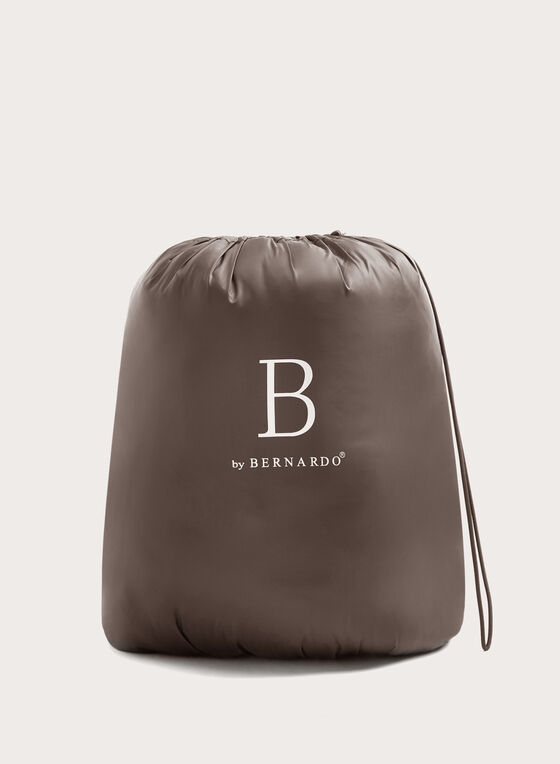 B by Bernardo - Manteau matelassé PrimaLoft® en duvet compressible, Brun, hi-res