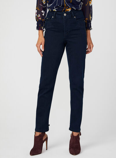 Carreli Jeans – Embroidered Denim Pants