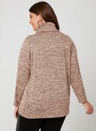 Linea Domani - Knit Drape Neck Top, Brown, hi-res