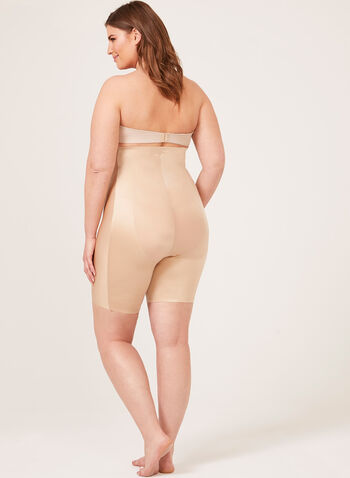 Body Hush – High Rise Thigh Shaper, Off White, hi-res