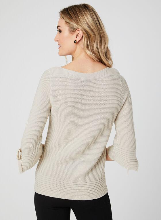 Lurex Knit Sweater, Off White, hi-res