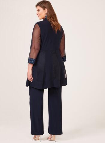 2-Piece Jersey Pantsuit, Blue, hi-res