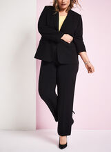 Louben - Pantalon à jambe droite, Noir, hi-res