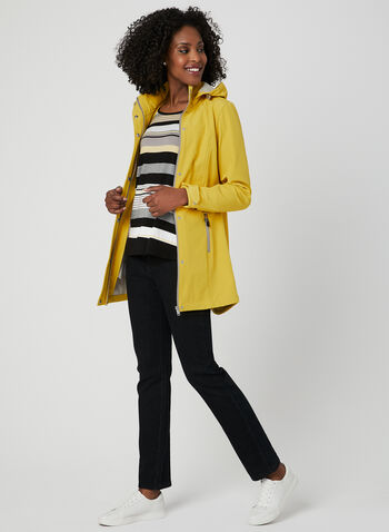 Novelti - Softshell Raincoat, Yellow, hi-res