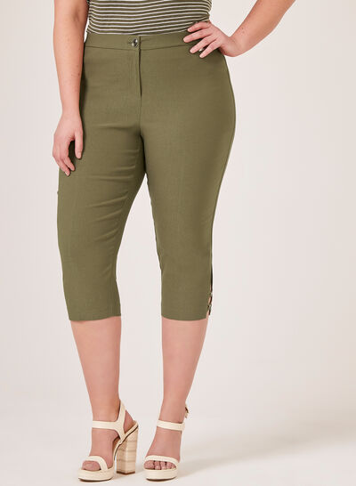 Signature Fit Slim Leg Capri