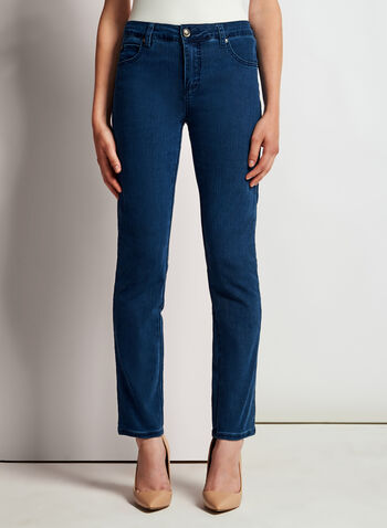 Simon Chang - Signature Fit Slim Leg Jeans, , hi-res