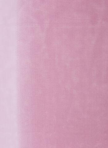 Foulard léger ombré, Violet,  foulard, oblong, léger, ombré, printemps été 2020