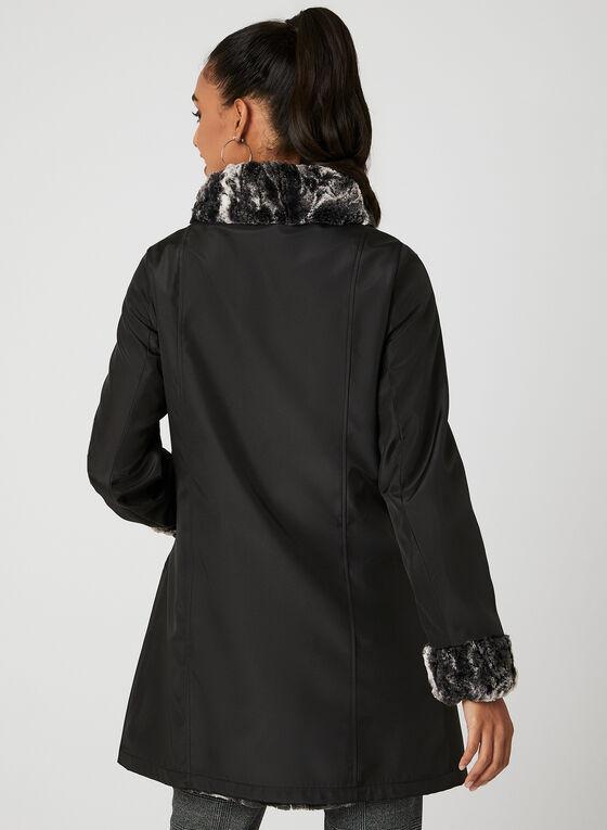 Manteau trench réversible , Noir