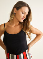 Basic Jersey Camisole, Black