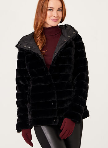 Nuage - Reversible Faux Fur Coat, , hi-res