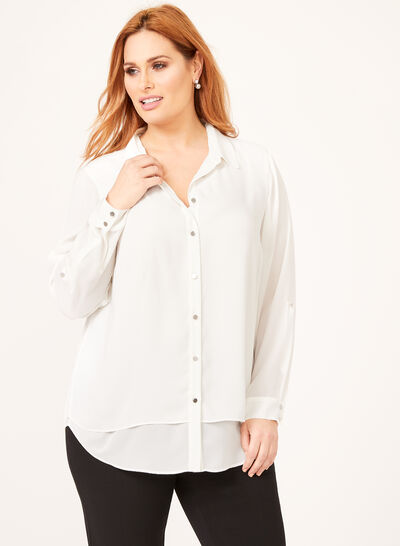 Double Layer Blouse