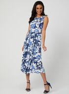 Floral Jersey Dress, Blue, hi-res