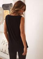 Basic Sleeveless Top, Black