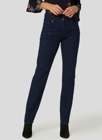 Simon Chang - Signature Fit Jeans, Blue, hi-res