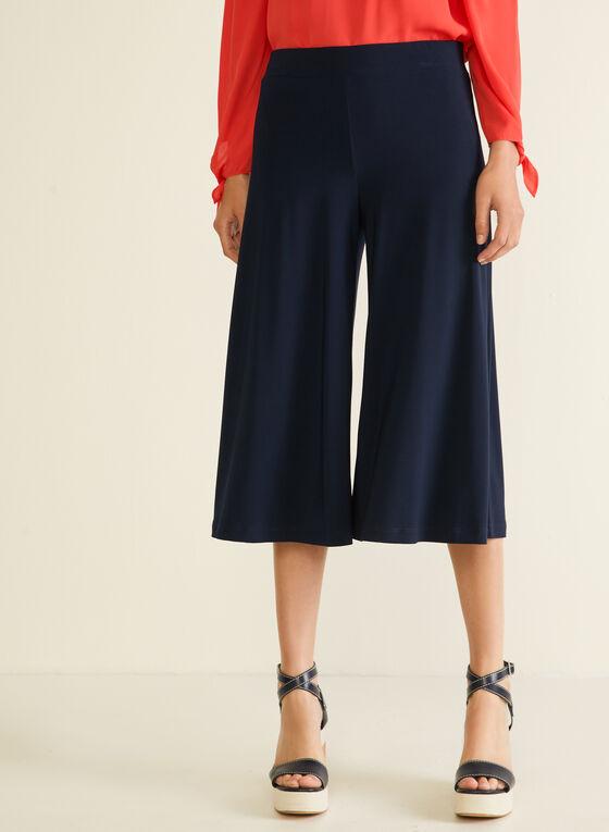 Jupe-culotte pull-on en jersey, Bleu