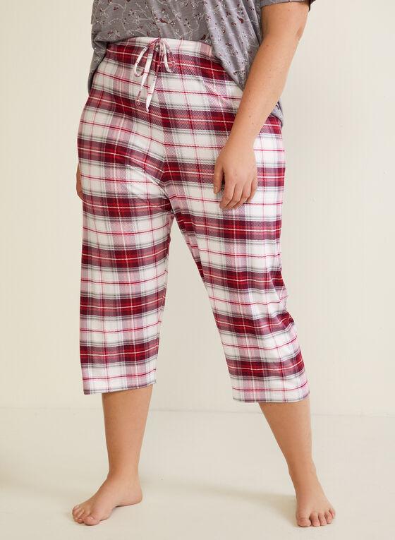 Ensemble pyjama carreauté, Gris