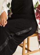 Joseph Ribkoff - Pantalon à jambe large , Noir