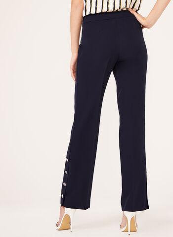 Modern Fit Straight Leg Pants , Blue, hi-res