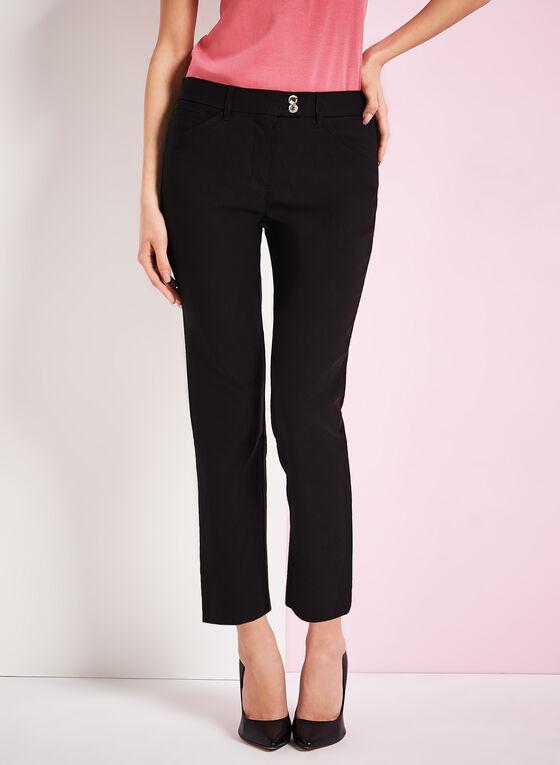 Simon Chang Slim Leg Pants, Black, hi-res