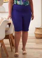 Stud Detail Bermuda Shorts, Blue