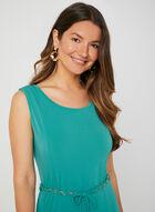 Nina Leonard - Fit & Flare Dress, Blue, hi-res