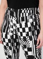 Joseph Ribkoff - Pantalon abstrait à jambe étroite, Noir, hi-res