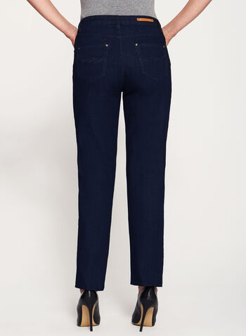Simon Chang - Signature Fit Embellished Jeans, Blue, hi-res