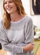 Stud Detail Sweater, Grey