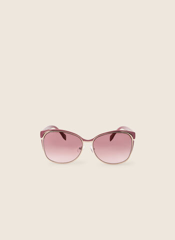 Coloured Sunglasses, Pink,  sunglasses, metallic, coloured sunglasses, spring 2020, summer 2020