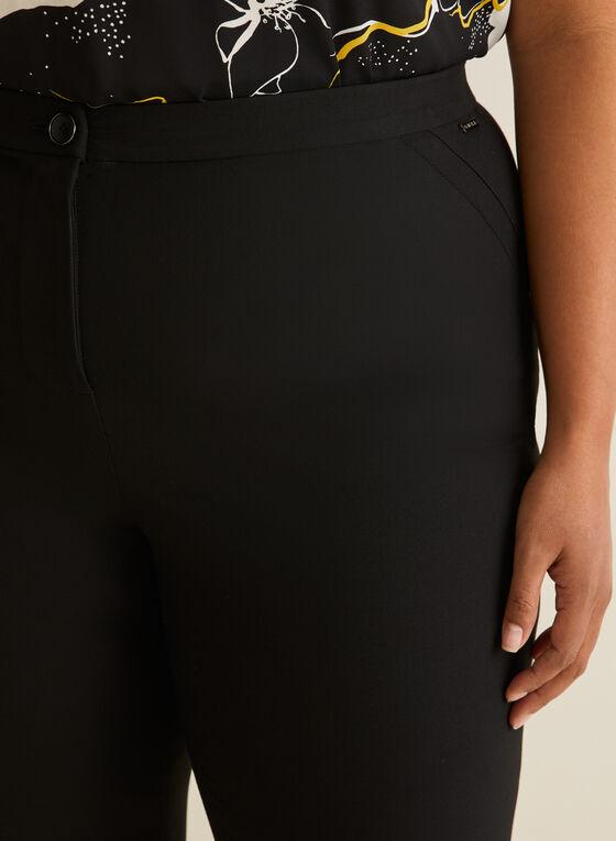 Signature Fit Straight Leg Pants , Black