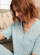 Star Print Pyjama Set, Blue