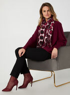 Made in Italy - Dolman Sleeve Sweater, Red