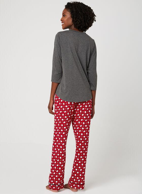 Pillow Talk - Pyjama Set, Grey, hi-res
