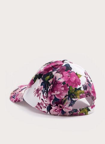 Casquette fleurie, Rose, hi-res