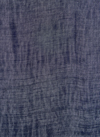 Lightweight Pashmina Scarf, Blue, hi-res