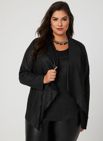 Linea Domani - 2-Piece Cardigan Set, Black, hi-res