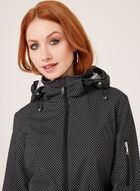 Chillax - Manteau de pluie à capuchon amovible , Noir, hi-res
