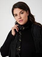Mock Neck Long Sleeve Sweater , Black