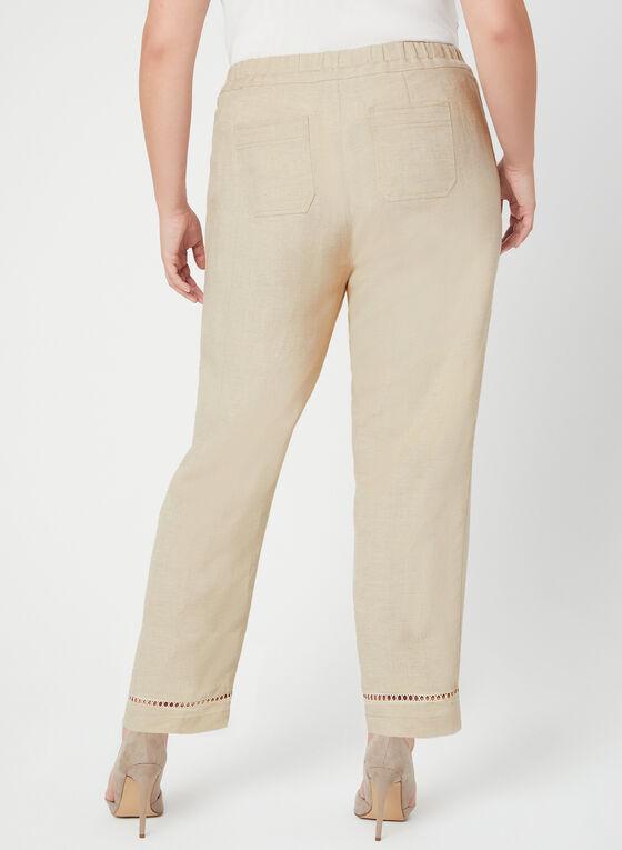 Modern Fit Wide Leg Pants, Off White