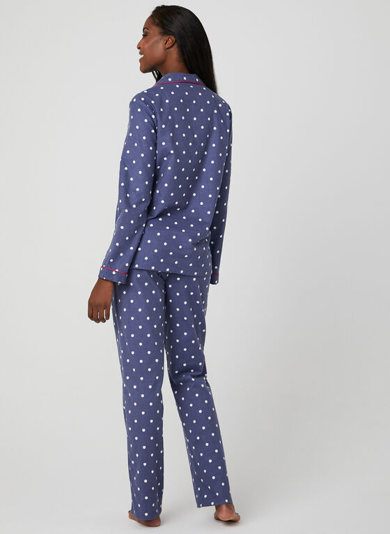 Midnight Maddie - Ensemble pyjama à pois, Gris, hi-res