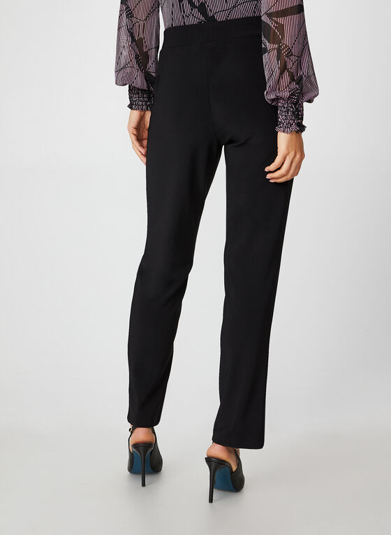 City Fit Jersey Pants, Black