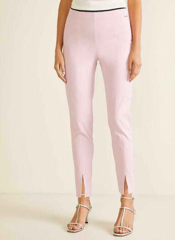 City Fit Slim Leg Pants, Purple