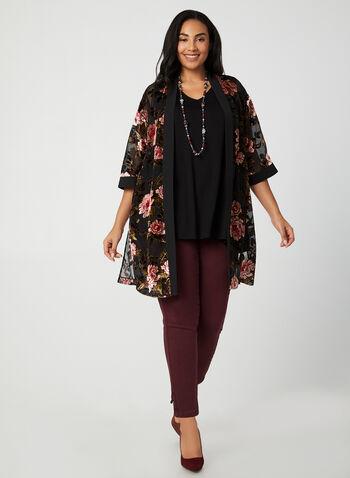 Sleeveless V-Neck Top, Black,  Canada, sleeveless, V-neck, A-line, fall 2019, winter 2019