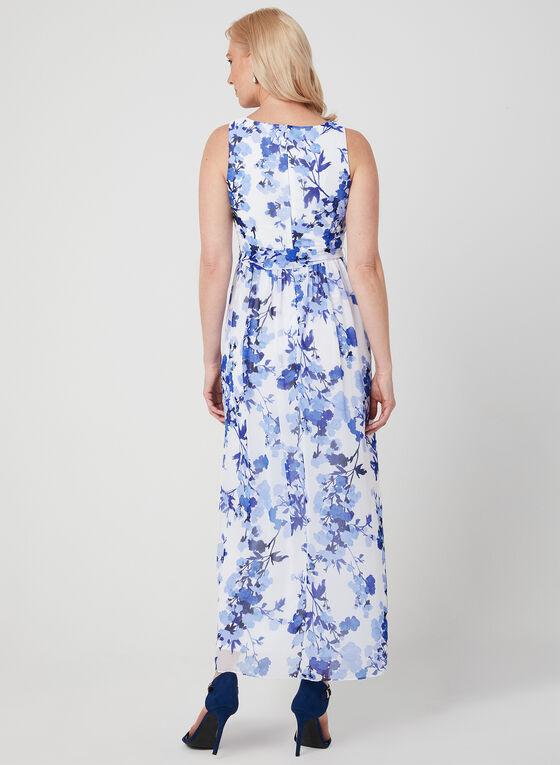 Jessica Howard – Chiffon Maxi Dress, White, hi-res