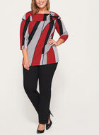 Marilyn Neck Sweater, Black, hi-res