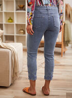 Charlie B - Floral Embroidery Jeans, Blue
