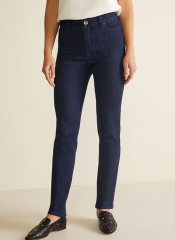 Straight Leg Jeans, Blue,  jeans, straight leg, fall winter 2020